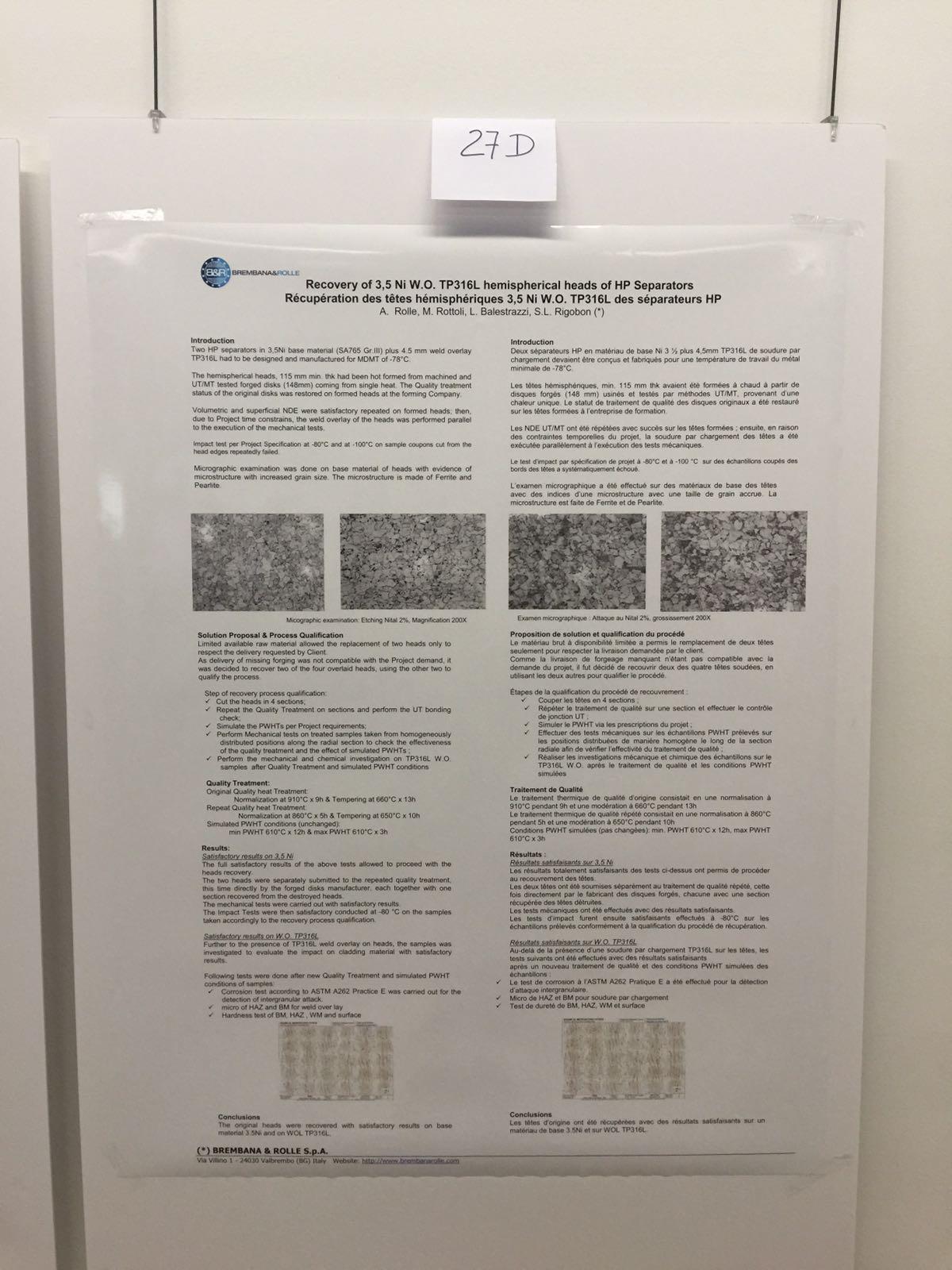 Poster presentati dai soci AIPE