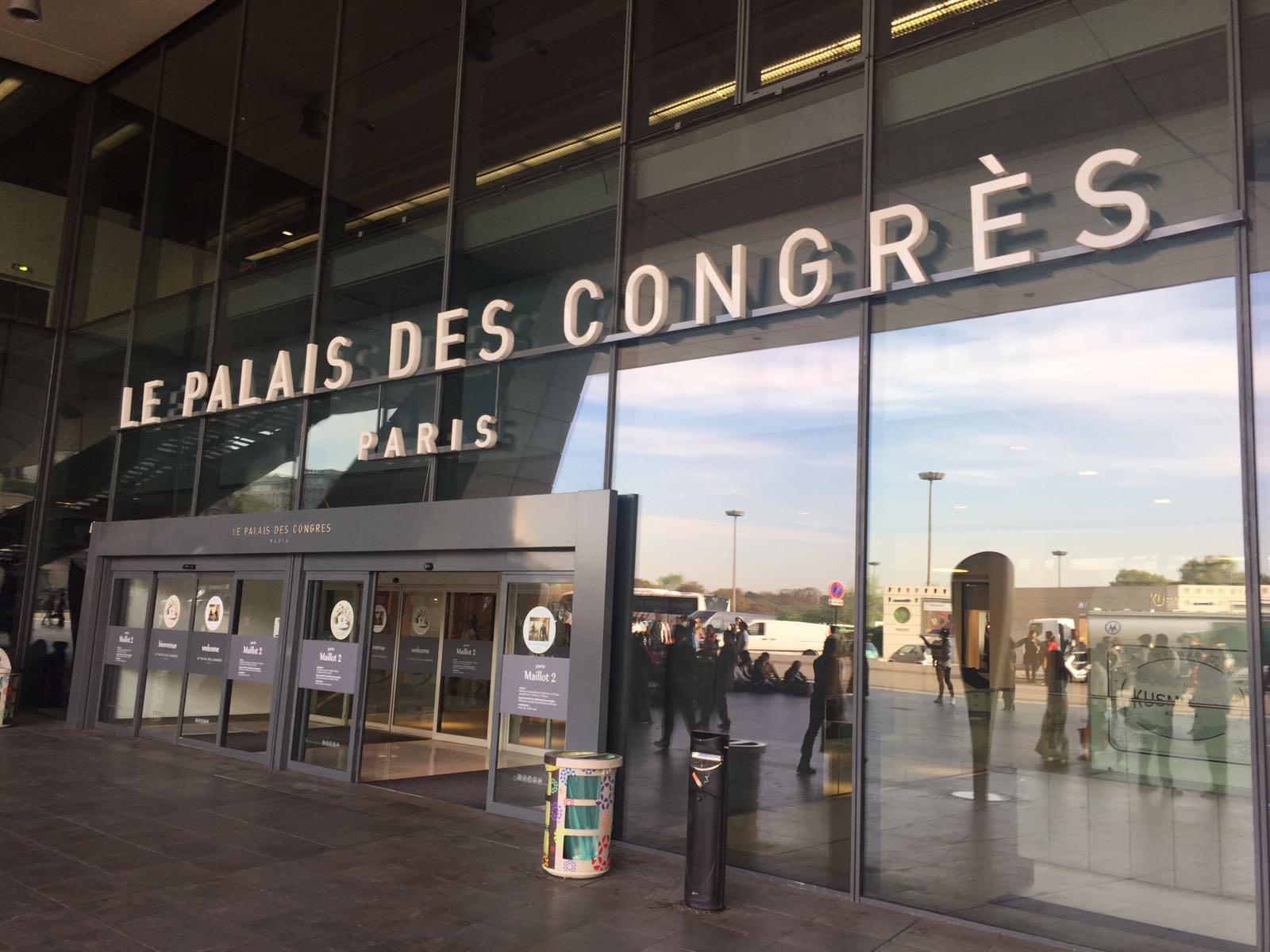 Ingresso de les Palais des congrès di Parigi