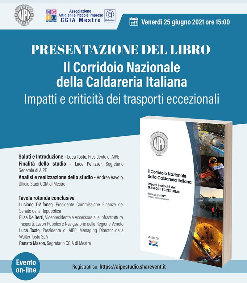 """Presentazione del Libro """"Il Corridoio Nazionale della Caldareria Italiana"""" – 25 giugno 2021 post thumbnail image"""
